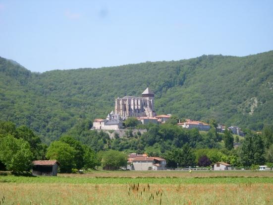 La cathédrale de Saint-Bertrand-de-Comminges : vue générale CC BY-SA Fifistorien