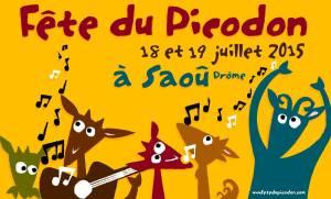 Fête du Picodon 2015 à Saoû en Drôme Provençale